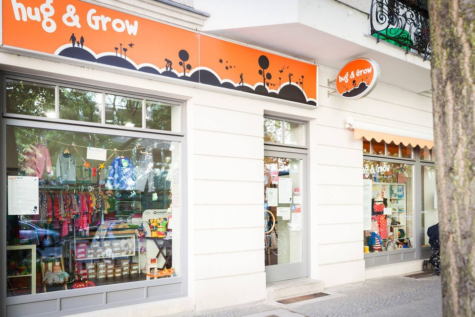 Hug & Grow Laden in Berlin