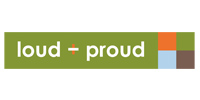 Loud + Proud Logo